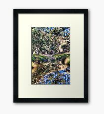 Marne reflections Framed Print