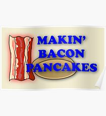 Adventure Time-Makin' Bacon Pancakes Poster