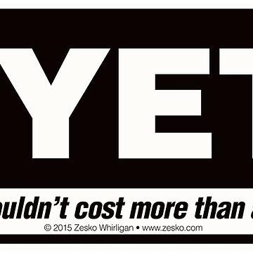 NYETI® Ice Chest Logo by Zesko