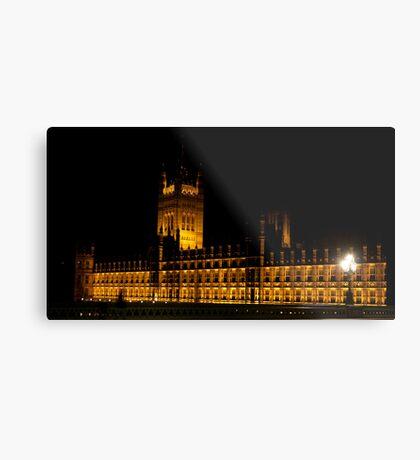 Houses of Parliament Metal Print