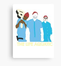 Team Zissou Canvas Print