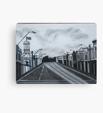 Gray Afternoon Canvas Print