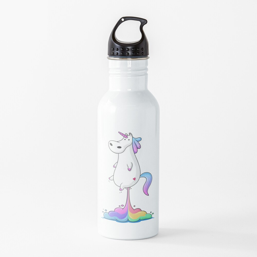 Unicorn Fart Water Bottle