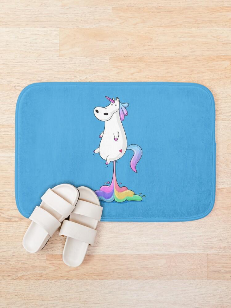 Alternate view of Unicorn Fart Bath Mat