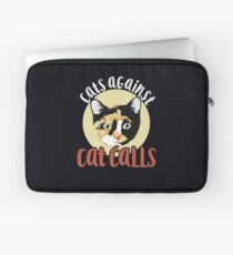 Cats against catcalls Laptop Sleeve