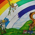Rainbow painters by kathrynmp