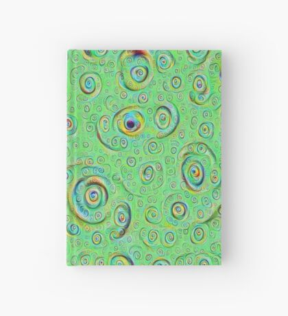 DeepDream Green Full 4K Hardcover Journal