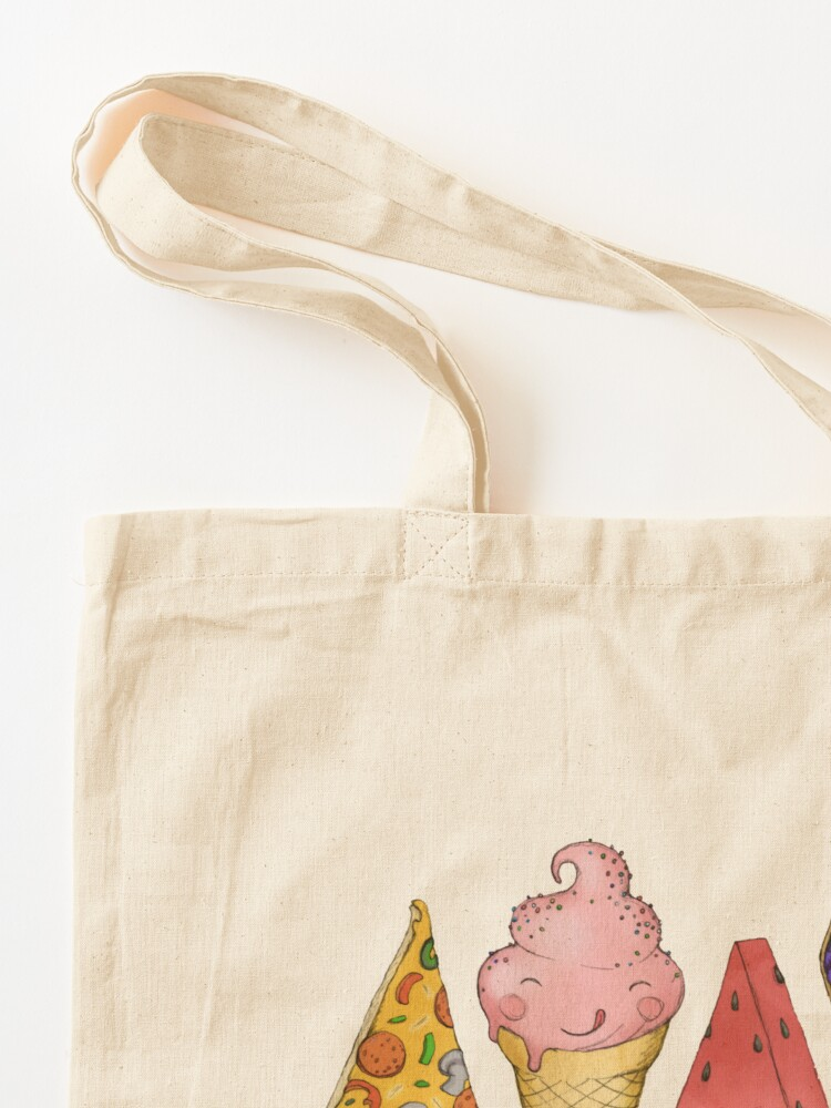 Alternate view of Happy Picnic Triangles Tote Bag