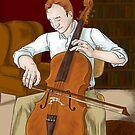 Cellist by Dralore