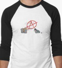ANARCHY EEYORE Men's Baseball ¾ T-Shirt