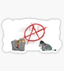 ANARCHY EEYORE Sticker