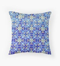 Tiles of Portugal II Throw Pillow
