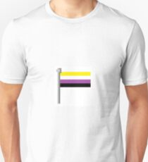 Non-Binary Pixel Flag T-Shirt
