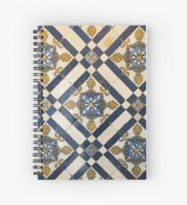 Tiles of Portugal IV Spiral Notebook