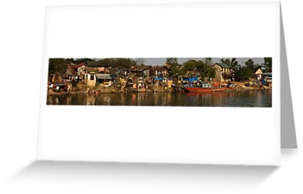 Hue River Life 3 - Panorama by Jordan Miscamble
