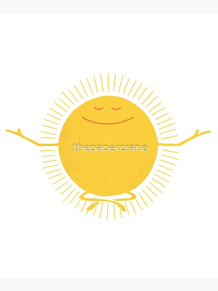 Sun Worshipper by thepapercrane