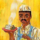 """Tacos Art """"taquero"""" by mrglaubitz"""