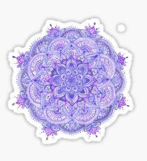 Watercolour Mandala Purple Sticker