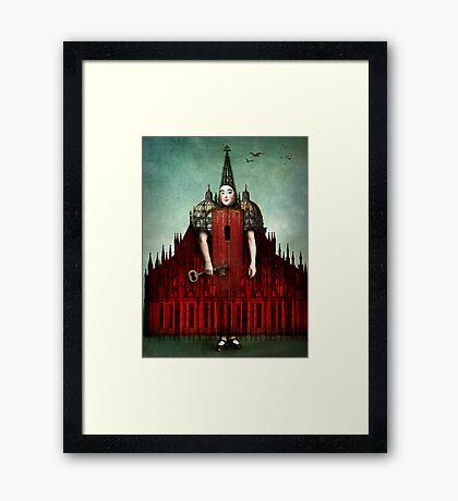 Das Schloss Framed Print
