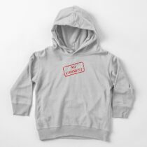 No comment stamp Toddler Pullover Hoodie