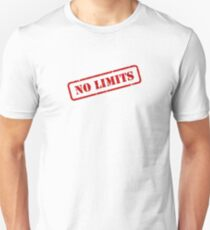 No limits stamp Slim Fit T-Shirt