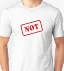 Not stamp Slim Fit T-Shirt