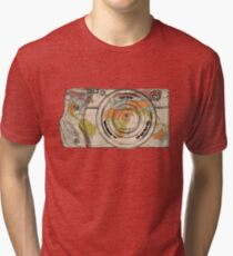 Travel The World With A Camera Tri-blend T-Shirt