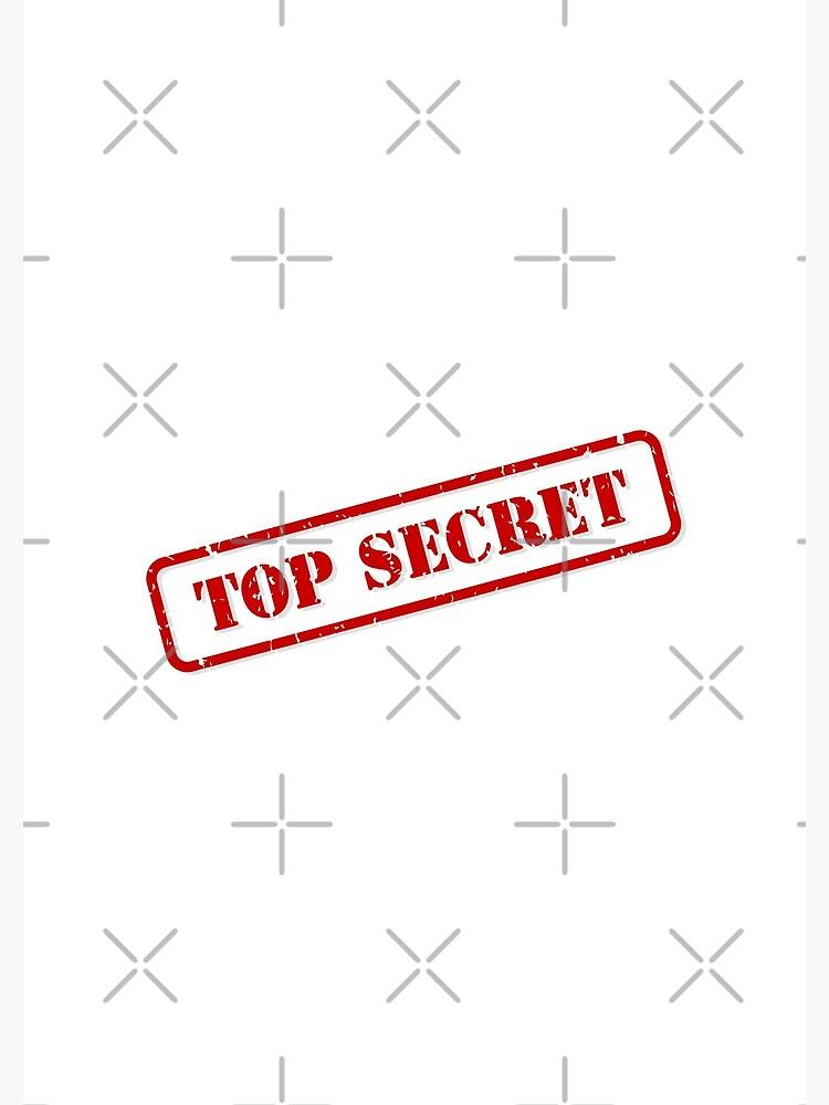Top secret stamp by THPStock