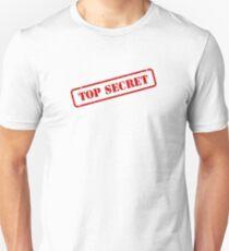 Top secret stamp Slim Fit T-Shirt