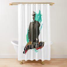 Real gentleman | Only man | Polite man Shower Curtain