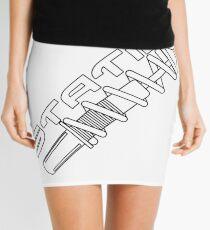 Static Mini Skirt