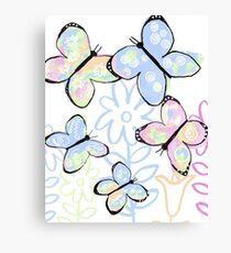 Dreamy Butterfly Flutter Canvas Print