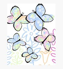 Dreamy Butterfly Flutter Photographic Print