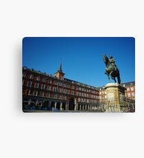 Plaza Mayor - Madrid Canvas Print