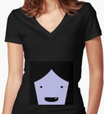marceline Women's Fitted V-Neck T-Shirt