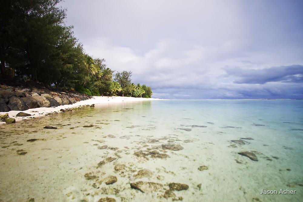 Tropical Coastline by Jason Asher