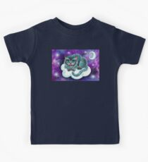 Galaxy Cheshire Cat Kids Tee