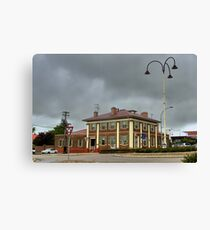 Postcard from Crookwell Canvas Print