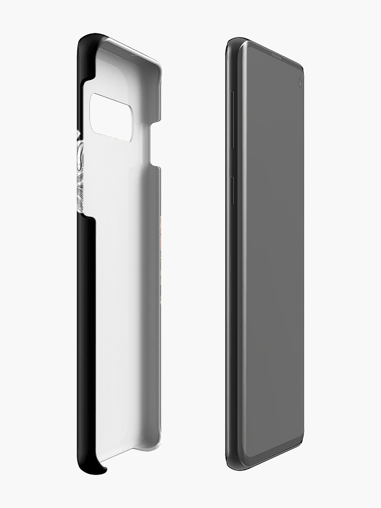 Alternate view of Flower Heart Spring Case & Skin for Samsung Galaxy