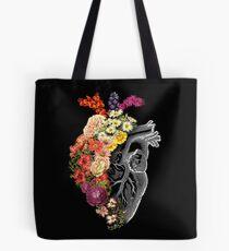 Blumen-Herz-Frühling Tote Bag