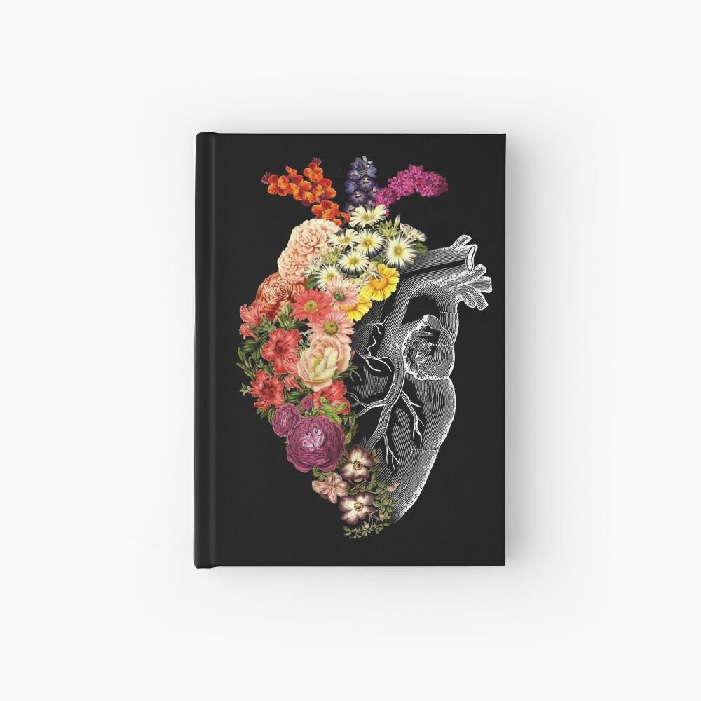 Flower Heart Spring Hardcover Journal