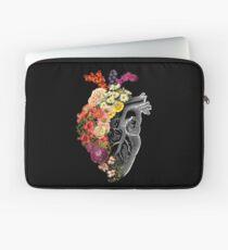 Blumen-Herz-Frühling Laptoptasche