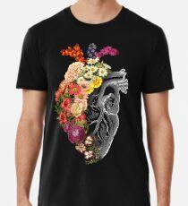 Flower Heart Spring Premium T-Shirt