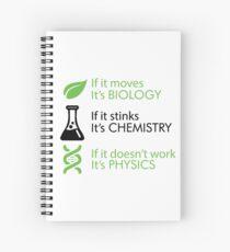 Biology - Chemistry - Physics Spiral Notebook