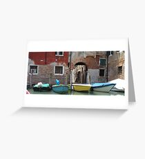 Venezia 2 Greeting Card