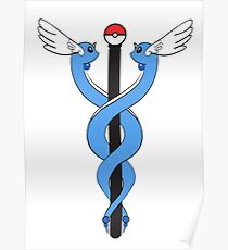 Pokemon Caduceus Poster