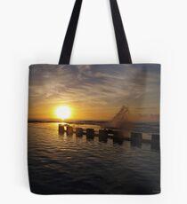 morning dip Tote Bag