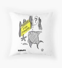 Fish Fingers ? Throw Pillow