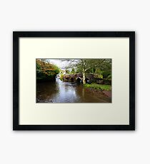 Packhorse Bridge nr Skilgate Framed Print