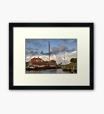 Harbour Willemstad Framed Print